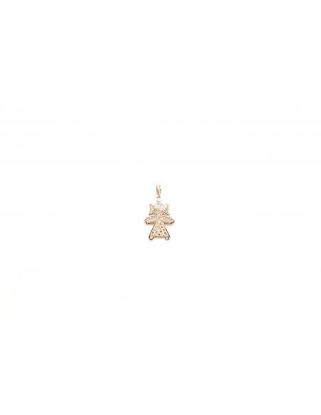 Balto aukso pakabukas su deimantais pardavimui internetu