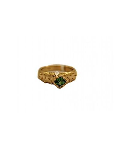 Auksinis žiedas su cirkonu pardavimui internetu