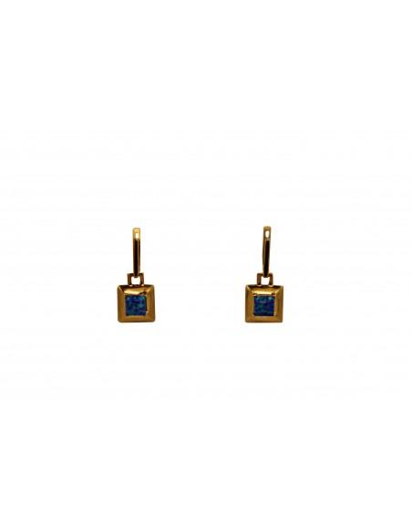 Auksiniai auskarai su opalais pardavimui internetu