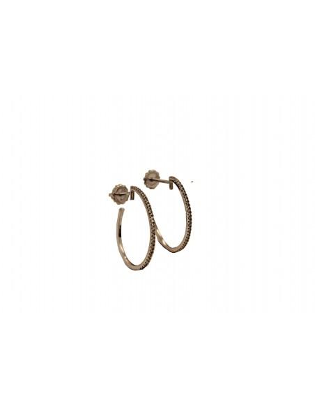 Auksiniai auskarai su briliantais pardavimui internetu