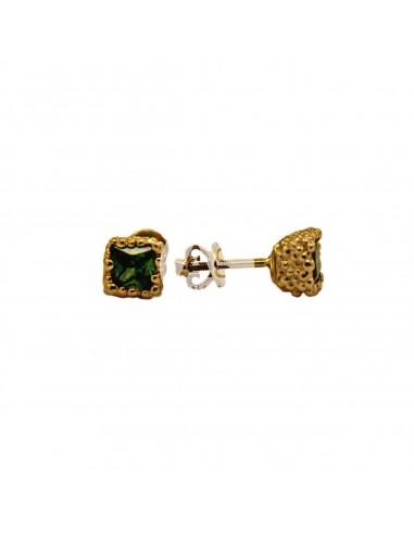 Auksiniai auskarai su cirkonais pardavimui internetu