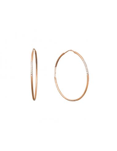Auksiniai auskarai žiedai pardavimui internetu